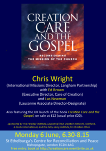 CreationCareAndTheGospel_book-launch-poster