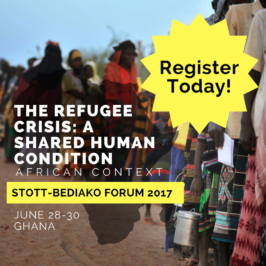 Now Open: 2017 Stott-Bediako Forum Registration!