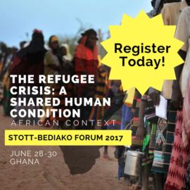 Now Open: 2017 Stott-Bediako Forum Registration!